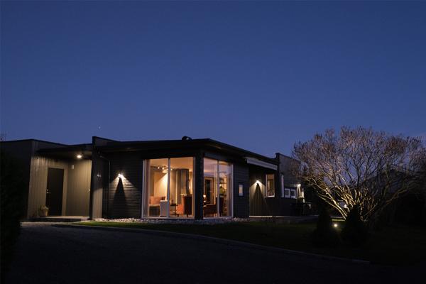 Fasadefornying med belysning